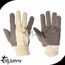 SRSAFETY best price white cotton gloves/white cotton hand gloves