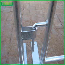 Safety metal fence pedestrian traffic temporary crowd control barrier
