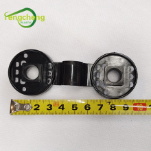 Ganchos de seguridad para accesorios de tela de pantalla negra