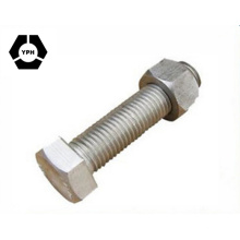 DIN609 DIN610 Hexagon Head Fitted Bolts with Long Threaded Portion