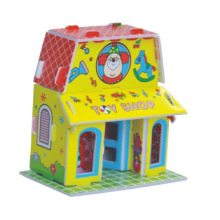 Small House 3d Puzzle Eco