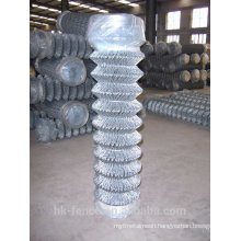 Hot dip galvanized wire woven Diamond Mesh Chainlink Fence