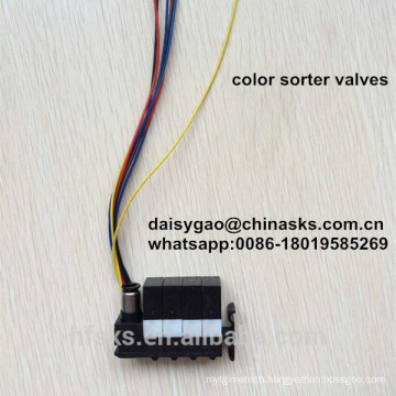 Long Life Quality Assurance Rice Color Sorter Solenoid Ejector