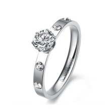 Hot sale silver crown ring,women wedding ring sets,good luck ring