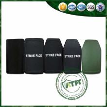 Placa antibalas militar de aluminio del carburo de silicio de cerámica de HAP del panel balístico duro de la armadura
