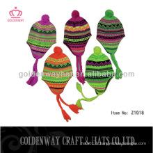 Chapeaux d'hiver de conception simple à la mode