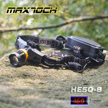 Maxtoch HE5Q-8 Runtime18650 Long Zoom Projecteur LED