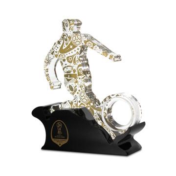 Trophée de Coupe Sport Acrylique Personnalisé de Forme Humaine APEX