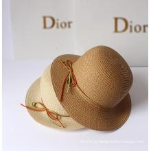 Летняя мода Bowknot Открытый Зонт Соломенные шляпы Дунгуань завод