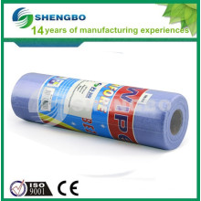 Lint-free Polyester viscose Spunlace Cleaning Cloth Roll