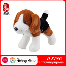 Juguete relleno suave animal del perro de peluche del juguete de la felpa del OEM