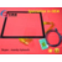 """Schnelle Antwort 2.4mm Stärke 17 """"kapazitive Touch Screen Panel mit Controller und USB Interface"""
