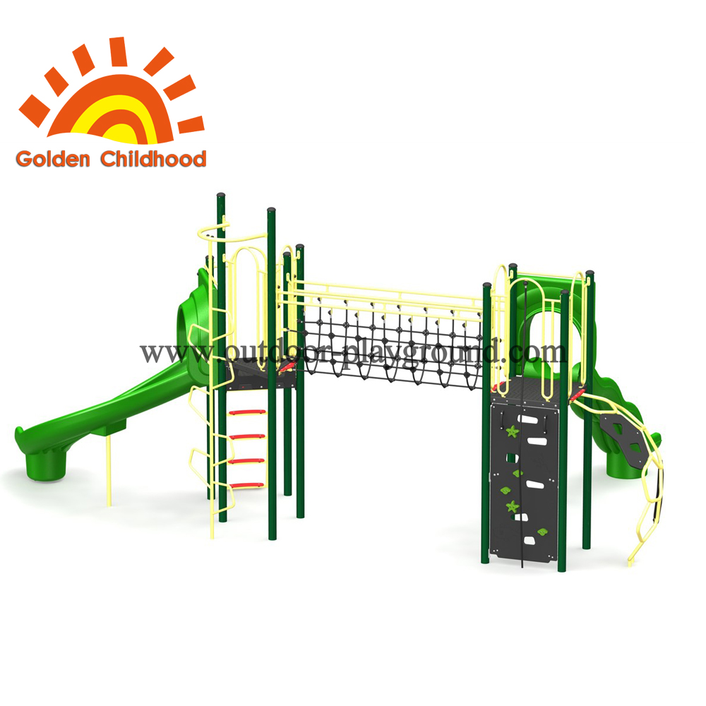 Simple Green Outdoor Play Structure