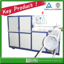 Machine for aluminum flexible duct production