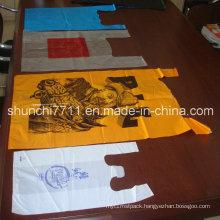HDPE Plain Plastic T-Shirt Retail Vest Shopping Bag