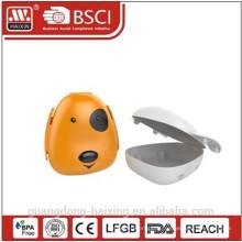 Boîte à Lunch en plastique de la Face forme chien