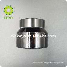 30g Custom Amber Glass Cosmetic Jar with Black cap