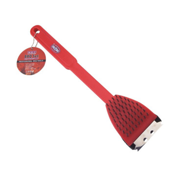 Red Grill Brush con manico in plastica