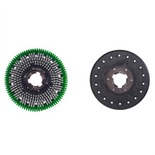 AF09205 new rug cleaning round disc nylon brush floor cleaning brush for uneven ground factory floor antique stone surface use
