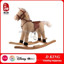 Детская Площадка Весна Райдер Оборудование Деревянные Лошадка Игрушки