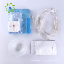 Kit de procedimiento desechable con vendaje de gasa
