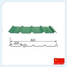 Platine d'acier préfabriquée standard de GB pour le toit ou le mur
