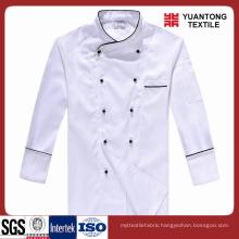 All Season Bleached Chef Fabrics