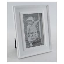 Cadre photo blanc en bois pour décoration maison
