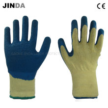 Latex Coated Industrial Labor Protective Safety Work Gloves (LS504)