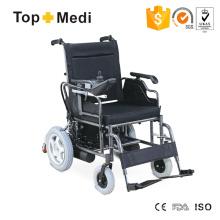 Equipamento hospitalar Transit Steel Elétrica cadeira de rodas com mesa retrátil apoio de braço