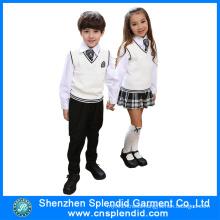 2016 New Model Winter Fashion Kindergarten Uniform Design