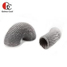 Duto de exaustão de ventilação laminado de folha de alumínio de PVC