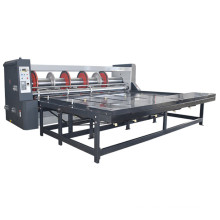 low cost Rs4 Chain feeding rotary slotter machine for carton box slotting and creasing