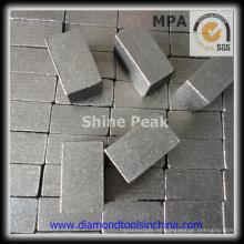 Segmento de broca de diamante para corte de piedra de mármol