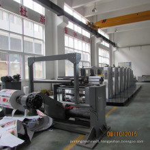 Fully Automatic Four-Six Colors Flexo Printing Machine