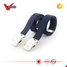 Men's military style fabric belt