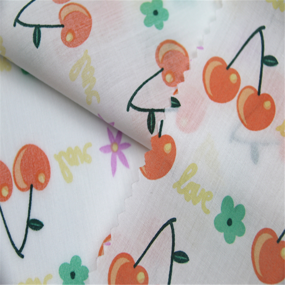 High Density Printed Cotton Poplin