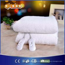 Colchão de lã sintética aquecida com quatro calor