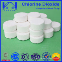 Fabrication en usine de comprimés de dioxyde de chlore en gros
