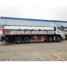 Camión del tanque de la leche fresca de 5000L 6000L 7000L 8000L HOWO / camión del transporte de la leche / camión de la transferencia de leche / remolque del tanque de la leche