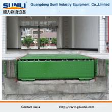Equipamento industrial ajustável da doca de carga da empilhadeira do armazenamento