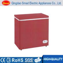 congelador de cofre de baja temperatura congelador rápido congelador de colores