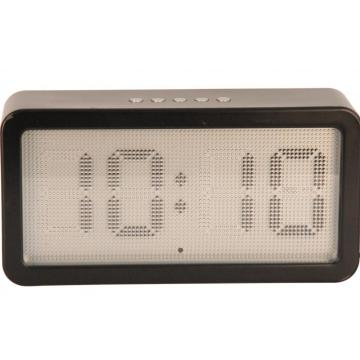 Smooth Round Concerns Schreibtisch Digital Desk Clock