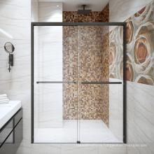 Seawin Luxury Easy installation  Aluminum Frame Parts Double 10 Mm Sliding Glass Shower Door