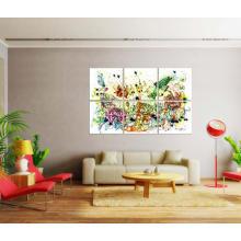 Pintura moderna de la pintura al óleo de la decoración
