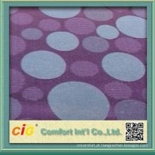 D2S-0012 100% poliéster flor bonita jacquard estofos tecidos