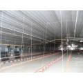 Гальванизированная стальная структура сарай для цыплят-бройлеров