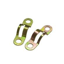 Metric steel single pipe clamps