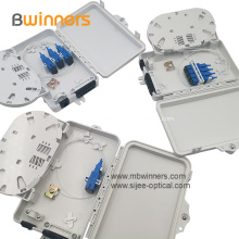 6 Core Plastic Fiber Optic Termination Box