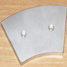 Дуговые сегментные магниты для ветровых турбин типа диска